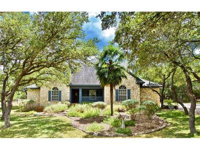 Dripping Springs Single Family Home For Sale: 907 N Canyonwood