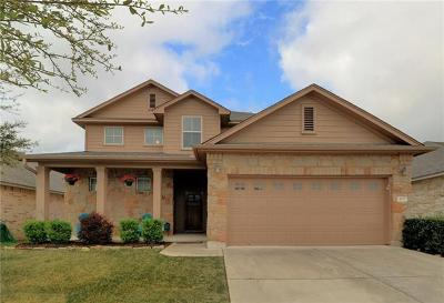 Cedar Park Single Family Home For Sale: 405 Riverine Way