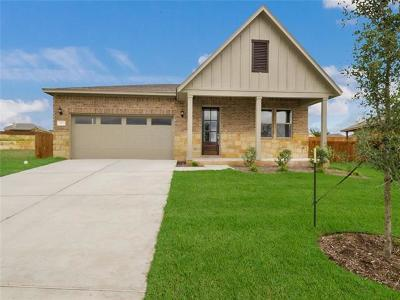 Jarrell Single Family Home For Sale: 217 Terry Meadow Ln