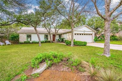 Hays County, Travis County, Williamson County Single Family Home Pending - Taking Backups: 5101 Trail West Dr