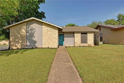 Hays County, Travis County, Williamson County Single Family Home Pending - Taking Backups: 5520 Icon St