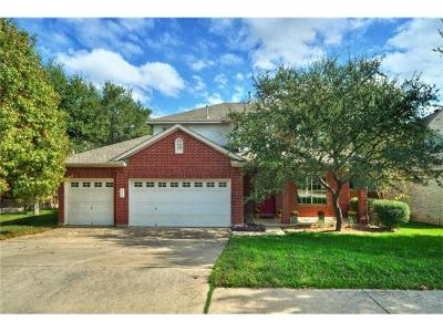 Cedar Park TX Single Family Home For Sale: $269,000