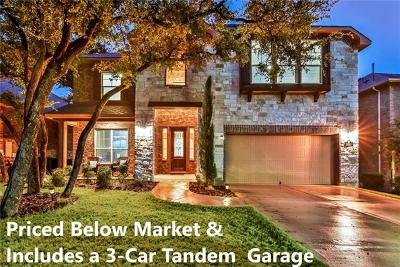Georgetown Single Family Home For Sale: 105 Cibolo Ridge Dr