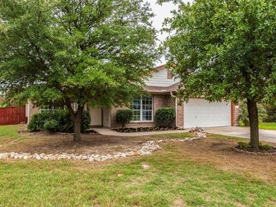 Round Rock Single Family Home For Sale: 17012 Fitzgerald Ln