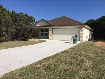 Lago Vista Single Family Home Pending - Taking Backups: 21000 Little Ln