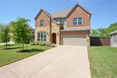 Round Rock Single Family Home For Sale: 505 Silver Trl