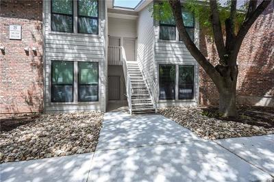 Travis County Condo/Townhouse For Sale: 3839 Dry Creek Dr #105