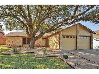 Travis County Single Family Home Pending - Taking Backups: 3205 Centralia Cv