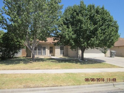 Killeen Single Family Home For Sale: 3305 Spotted Horse Dr