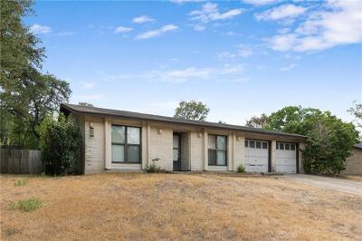 Austin Single Family Home For Sale: 7107 S Brook Dr