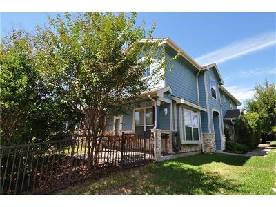 Round Rock Condo/Townhouse For Sale: 1481 E Old Settlers Blvd #703