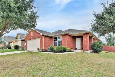 Leander Single Family Home For Sale: 2108 Mary Ella Dr