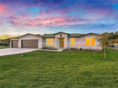 Lago Vista Single Family Home For Sale: 20012 Boggy Ford Rd