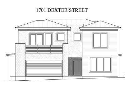 Single Family Home For Sale: 1701 Dexter St