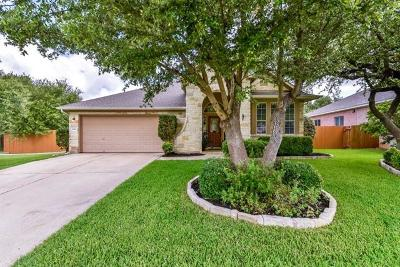 Round Rock Single Family Home For Sale: 3840 Aqua Ln