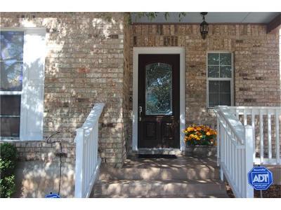 Cedar Park Single Family Home For Sale: 905 Rawhide Trl