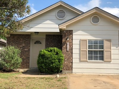 Leander Single Family Home Pending - Taking Backups: 828 Mica Ln