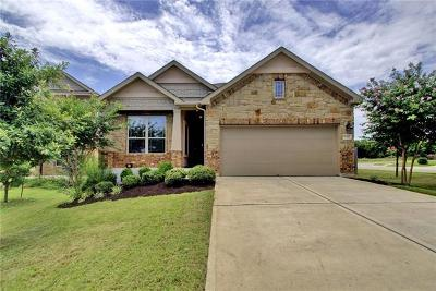 Leander Single Family Home For Sale: 1312 Camino Ct