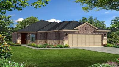 Round Rock Single Family Home For Sale: 5084 Cassia Way