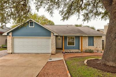 Hays County, Travis County, Williamson County Single Family Home Pending - Taking Backups: 8512 Birmingham Dr