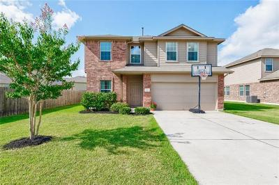 Hutto Single Family Home Pending - Taking Backups: 1221 Montell Ln