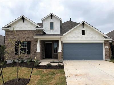 Leander Single Family Home For Sale: 108 Pine Island Ln