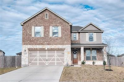 Manor Single Family Home For Sale: 12604 Valor Ct