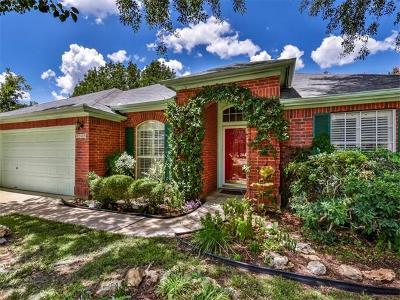 Cedar Park Single Family Home For Sale: 2509 Goldfinch Dr
