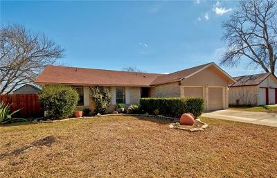 Round Rock Single Family Home Pending - Taking Backups: 1305 Mills Meadow Dr