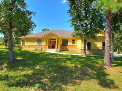 Bastrop Single Family Home For Sale: 214 Mauna Kea Ln