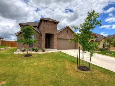 Leander Single Family Home For Sale: 516 Tula Trl