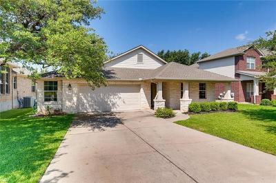 Cedar Park Single Family Home For Sale: 1417 Rimstone Dr