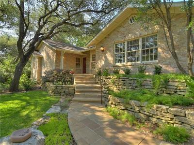 Hays County, Travis County, Williamson County Single Family Home For Sale: 301 Laurel Valley Rd