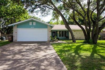 Travis County Single Family Home For Sale: 4003 Palomar Ln