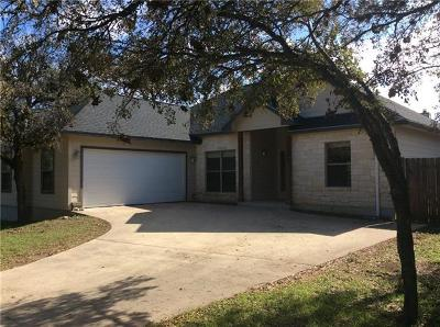 Marble Falls Single Family Home For Sale: 220 Friar Tuck Ln