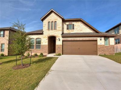 Leander Single Family Home For Sale: 4229 Privacy Hedge St