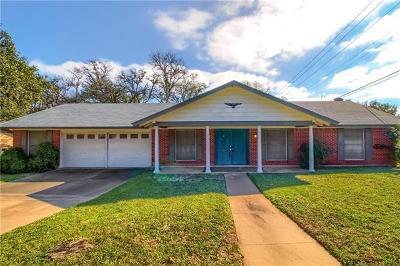 Austin Single Family Home For Sale: 8609 Honeysuckle Trl