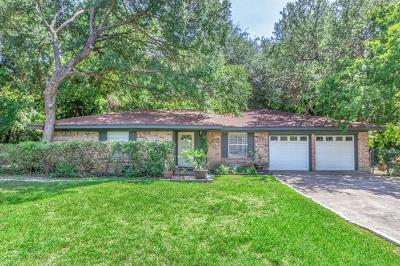 Austin Single Family Home For Sale: 12502 Shady Oaks Ter