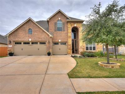 Cedar Park Single Family Home For Sale: 1502 Pendleton Dr