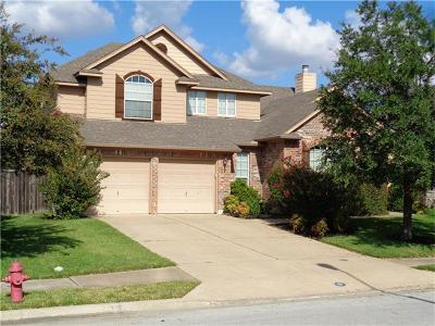 Round Rock Single Family Home For Sale: 1000 Hidden View Pl