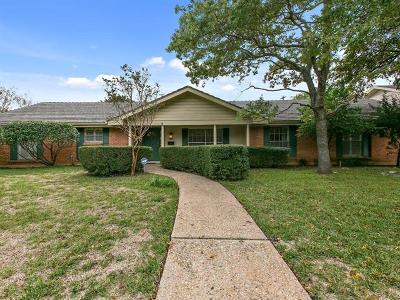 Austin Single Family Home Pending - Taking Backups: 4205 North Hills Dr
