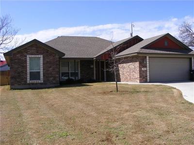 Burnet Single Family Home For Sale: 702 S Pierce St