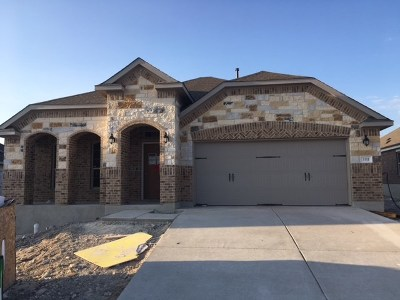 Round Rock Single Family Home For Sale: 3311 Lauren Nicole Ln