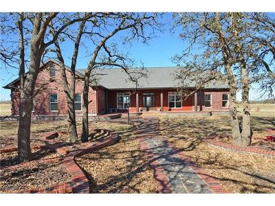 Williamson County Single Family Home For Sale: 11400 W Fm 487