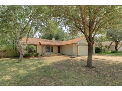 Round Rock Single Family Home Pending - Taking Backups: 1805 Prairie Star Ln