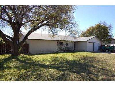 Round Rock Single Family Home Pending: 1601 Normeadows Cir