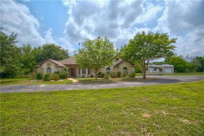 Burnet County Single Family Home For Sale: 101 Ancient Oaks Dr