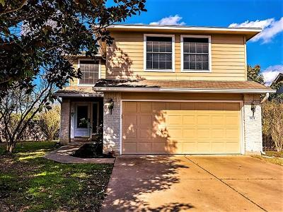 Hays County, Travis County, Williamson County Single Family Home For Sale: 1824 Canon Yeomans Trl