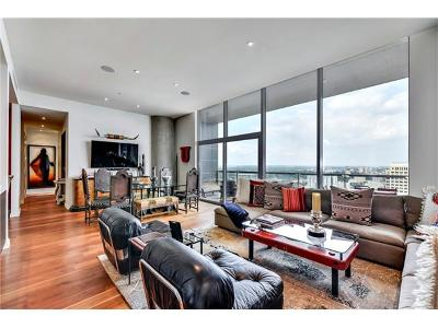 Condo/Townhouse For Sale: 210 Lavaca St #2905