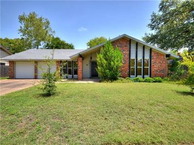 Austin Single Family Home For Sale: 1012 Red Cliff Dr